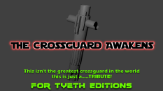 My second hilt a Kylo styled Crossguard