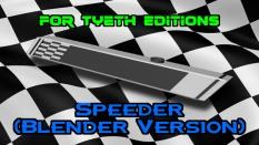 Speeder inpired by motorsports