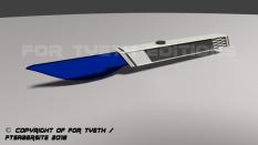 Blue Acrylic Blade...