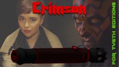 """Crimson"" saber for Darth Maul"