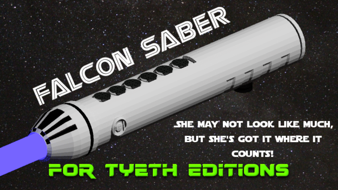 Falcon Saber – Inspired by the Millennium Falcon