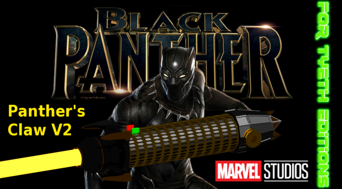 Panther's Claw V2 Saber – Return to Wakanda