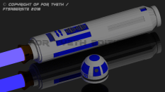 R2 Saber full portrait.