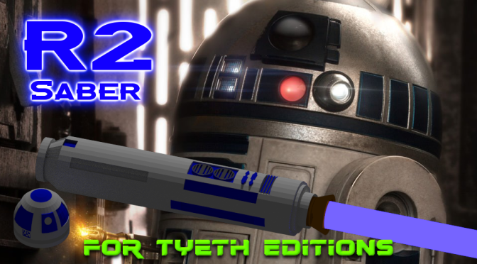 R2 Saber -For's gift to the Iconic Astromech (1 of 2)