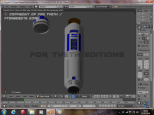 R2 Saber - His head came off!