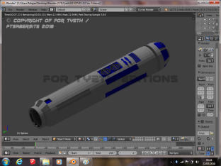 R2 Saber Hilt