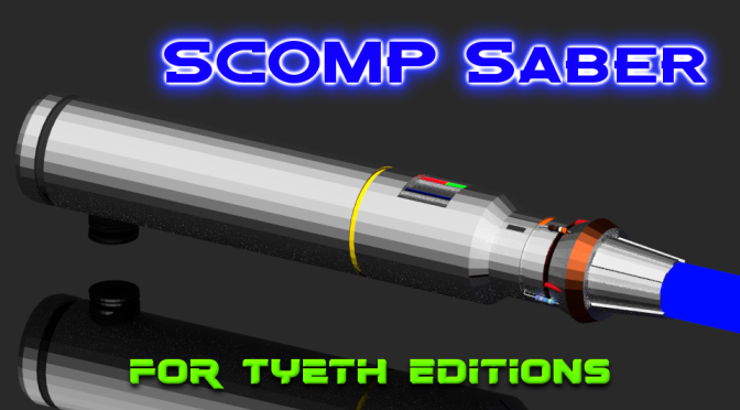 SCOMP Saber – Inspired by R2-D2's Communication Connector (2 of 2)