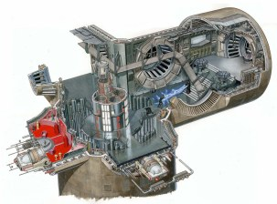 Cutaway image of Throne Room