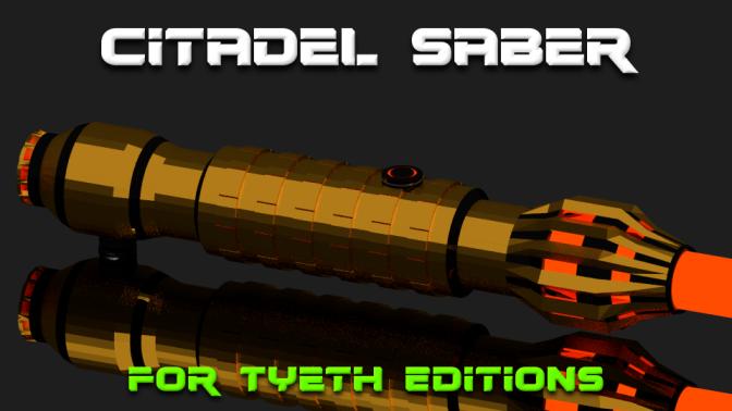 Citadel Saber – A lightsaber with a spin