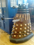 Ooh a Gold Dalek...Bling!