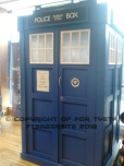 Oh and old blue Police Box!