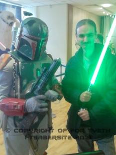 I think Boba wants my saber!