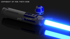 R2-D2 Saber Aglow!