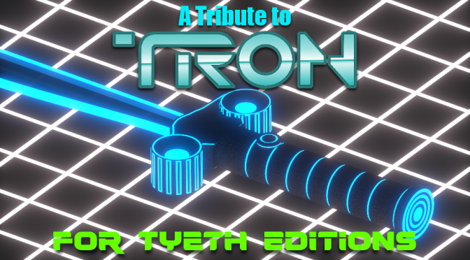 A Tribute to TRON – Lights, Cycles, Sabers and Tanks