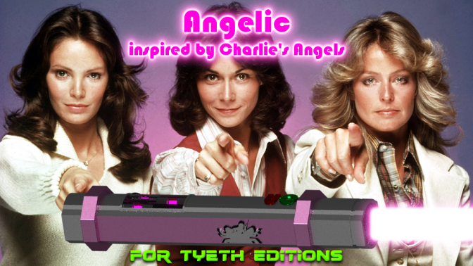 Angelic -Inspired by Charlie's Angels
