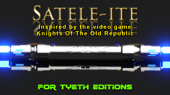 Satele-ite Saber Staff – Inspired by Star Wars The Old Republic game