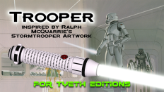Trooper Saber inspired by Ralph McQuarrie