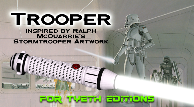 Trooper Saber – Inspired by Ralph MacQuarrie's Artwork