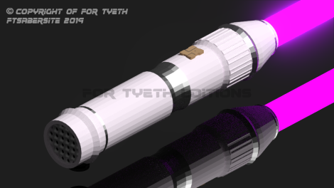 Padme's saber test build render 2