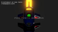 Supermobile Saber lit up!