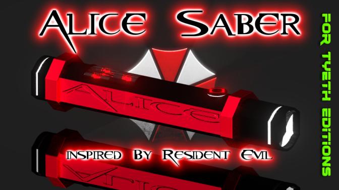 Alice Saber – Inspired by Resident Evil