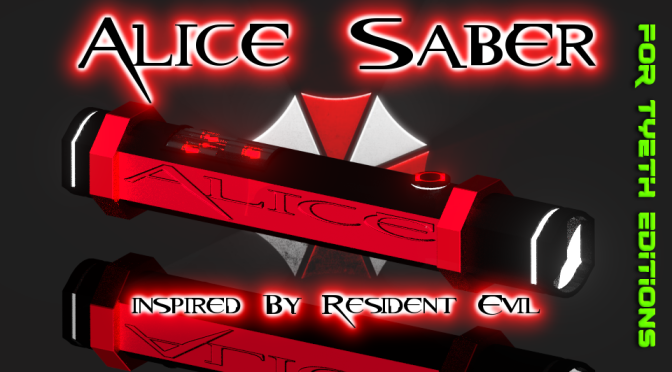 Alice Saber – Inspired by Resident Evil