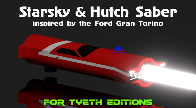 Starsky and Hutch Saber – Inspired by the Ford Gran Torino