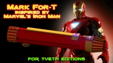 Mark For-T inspired by Iron MAn