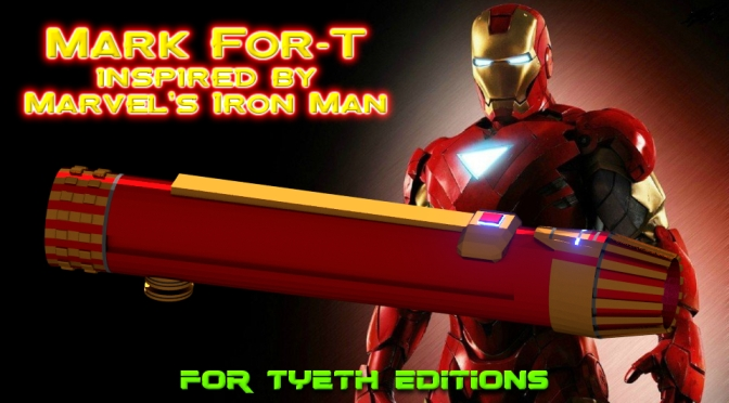 Mark For-T (40) Saber – Inspired by Marvel's Iron Man (pt. 1)