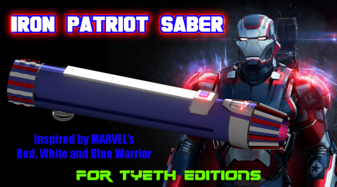 Iron Patriot Saber – Inspired by Marvel's Iron Patriot