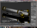"""New Asguard Saber"" texture test 1"