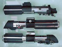 Three Darth Vader replicas.