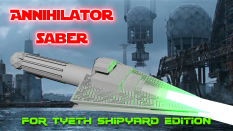 Annihilator Saber based on the Star Destroyer