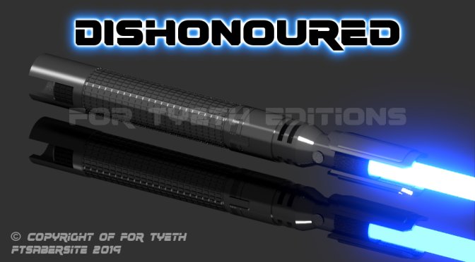 Dishonoured Saber – Inspired by EA Games' Jedi Fallen Order