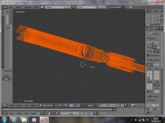 Dishonoured Saber Wireframe 1