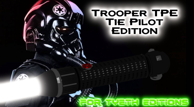 Trooper TPE Tie Pilot Edition saber