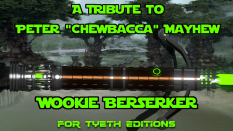 Wookie Berserker for Peter Mayhew