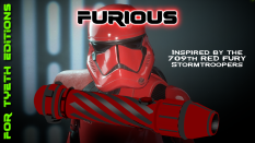 Furious Saber a Trooper series hilt