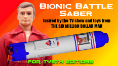 Bionic Battle Saber for Steve Austin