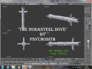 Durasteel Dove studio build 1