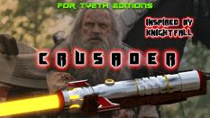 Crusader Saber inspired by Knightfall