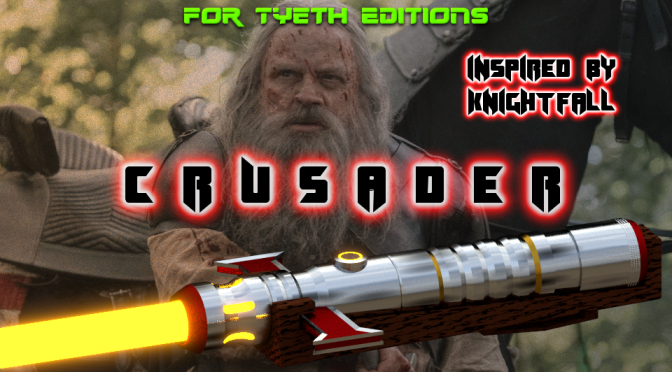 Crusader Saber – Inspired by Knightfall