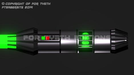 Lost Veridian Saber test build 3