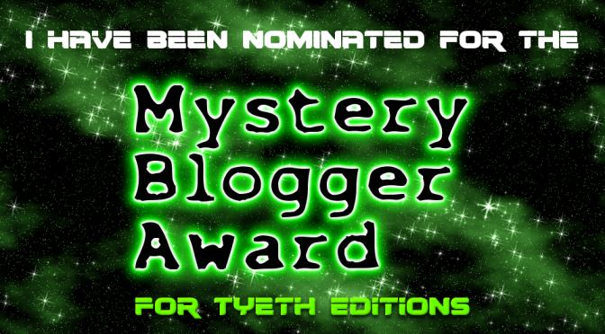 Mystery Blogger Award 2019 – I'm Honoured.