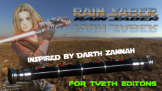 Rain Saber for Darth Zannah