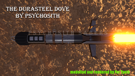 Durasteel Dove final build (the top down view)