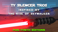 TY Silencer from The Rise of Skywlaker