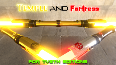 Temple and Fortress Sabers from the Old Republic