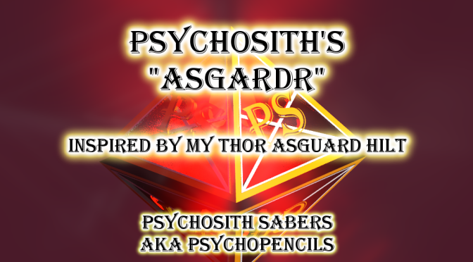 "PsychoSith Saber's ""Asgardr"" – Art inspired by one of my designs!"