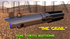 """The Grail Saber"" inspired by the Graflex"